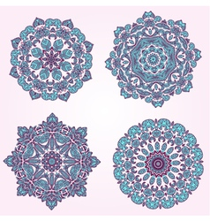 arabesque set3 vector image