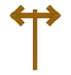 brown wood notices icon vector image