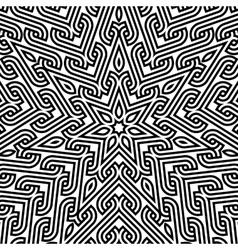 Abstract vintage geometric wallpaper pattern backg vector