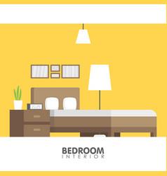Modern badroom interior design icon vector