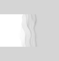 Paper cut abstract background 3d light vector