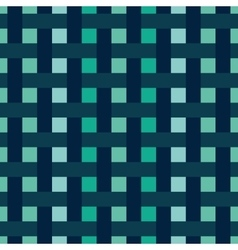 Abstract pattern with interwoven stripes vector image