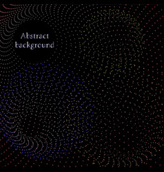 abstract particles pattern vector image