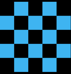 Black and blue checkered background vector