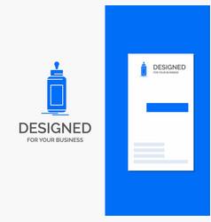 business logo for feeder bottle child baby milk vector image