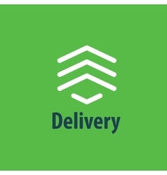 Delivery Logo Template vector image