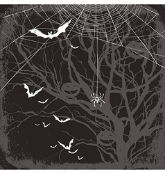 halloween background dark vector image