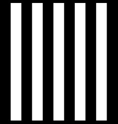 halloween pattern black and white vertical strips vector image