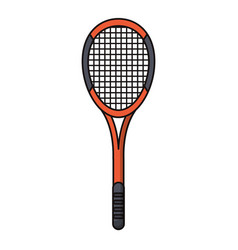 Racket tennis sport image vector
