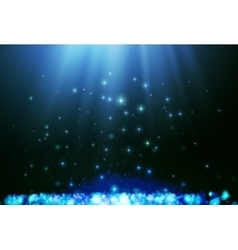Shining blur bokeh background for your design vector image