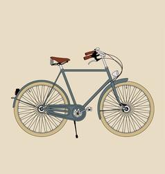 Vintage bicycle vector