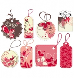 love price tags set vector image