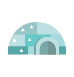 Eskimo house vector image
