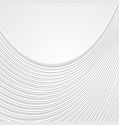 abstract white wavy lines pattern background vector image
