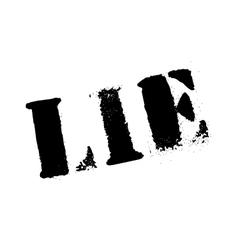 Lie rubber stamp vector