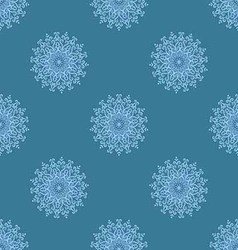 Light blue seamless pattern of openwork stars vector