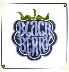 Logo for blackberry vector