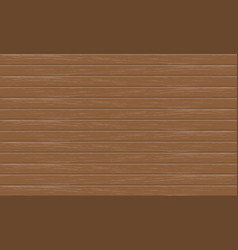 realistic brown wood plank pattern background vector image