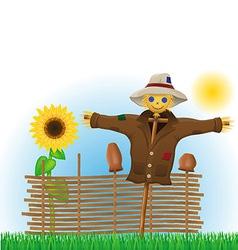 scarecrow 02 vector image