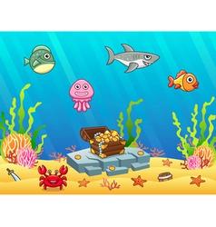 Underwater vector