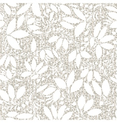 beige plant silhouette stripes vector image
