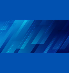 Abstract blue diagonal geometric with line modern vector
