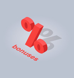 bonuses for online purchases isolated vector image