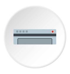 Conditioner icon circle vector