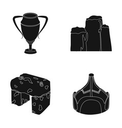 Lear drawing and or web icon in black style vector
