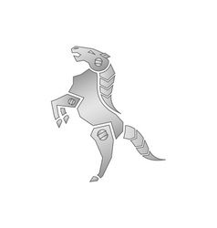 Mechanical-horse vector