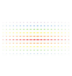 Shark spectral halftone effect vector