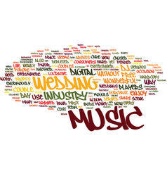 The new entertainer text background word cloud vector