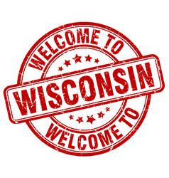 Welcome to wisconsin vector