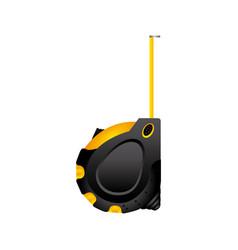 color measuring tape icon vector image
