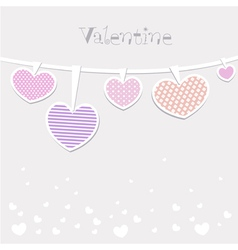 Happy valentines day and weeding cards vector image vector image