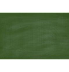 School Green Chalkboard Textured Background vector image