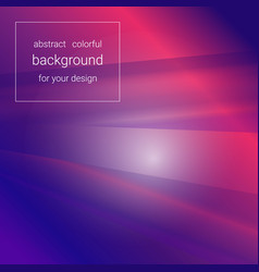 Abstract bright glowing red-blue background vector