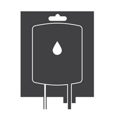 blood transfusion icon vector image