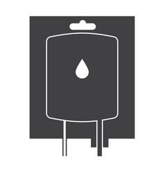 Blood transfusion icon vector
