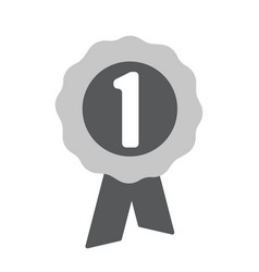 first place award icon one of set web icons vector image