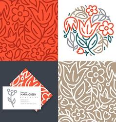 Flower Branding vector