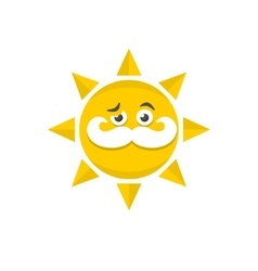 Grandfather sun vector image