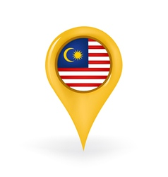 Location Malaysia vector image
