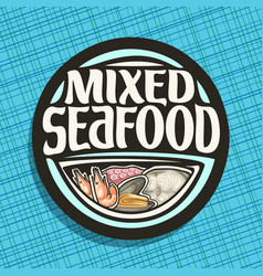 Logo for seafood vector