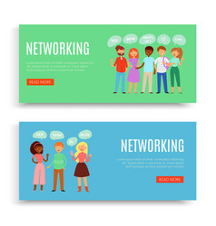 network banner inscription web internet vector image