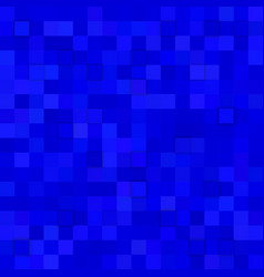 Square tiled background from squares in blue vector