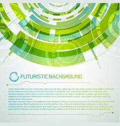 Virtual interface futuristic concept vector