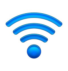 Wireless Network Symbol wifi icon vector image