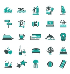 signs vacation travel recreation third vector image vector image