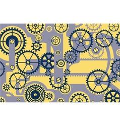 Pattern gear vector image vector image